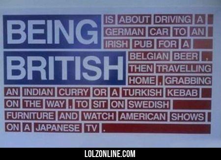 Being British...#funny #lol #lolzonline