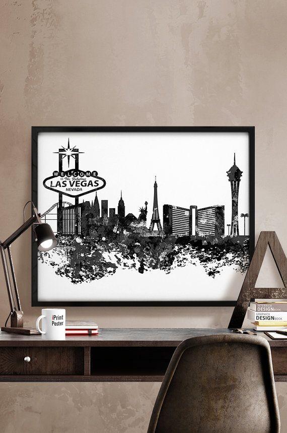 19 best tattoos images on pinterest skyline tattoo for Home decor las vegas