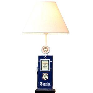 Moderne Simple Lampe de table citerne Créatif Abat-jour en linge(Aucun motif)