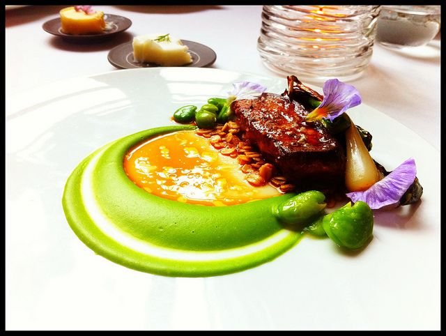 Foie Gras at Eleven Madison Park by eugene, via Flickr