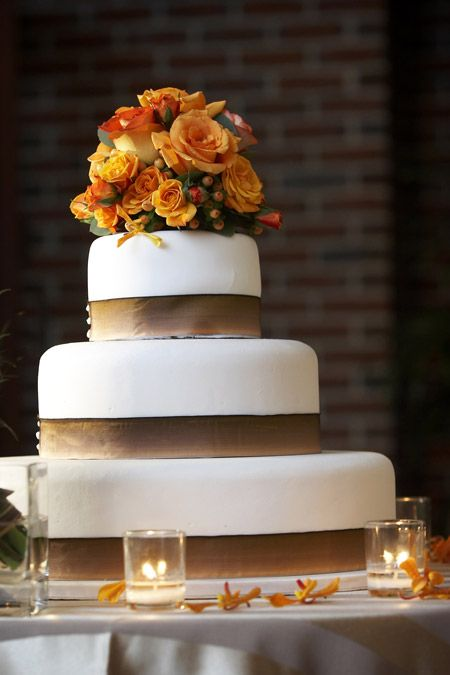 3 lagen bruidstaart