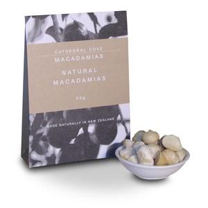 Natural Macadamia Nuts 50g