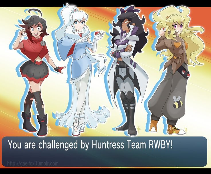 RWBY: You are challenged by Huntress Team RWBY!