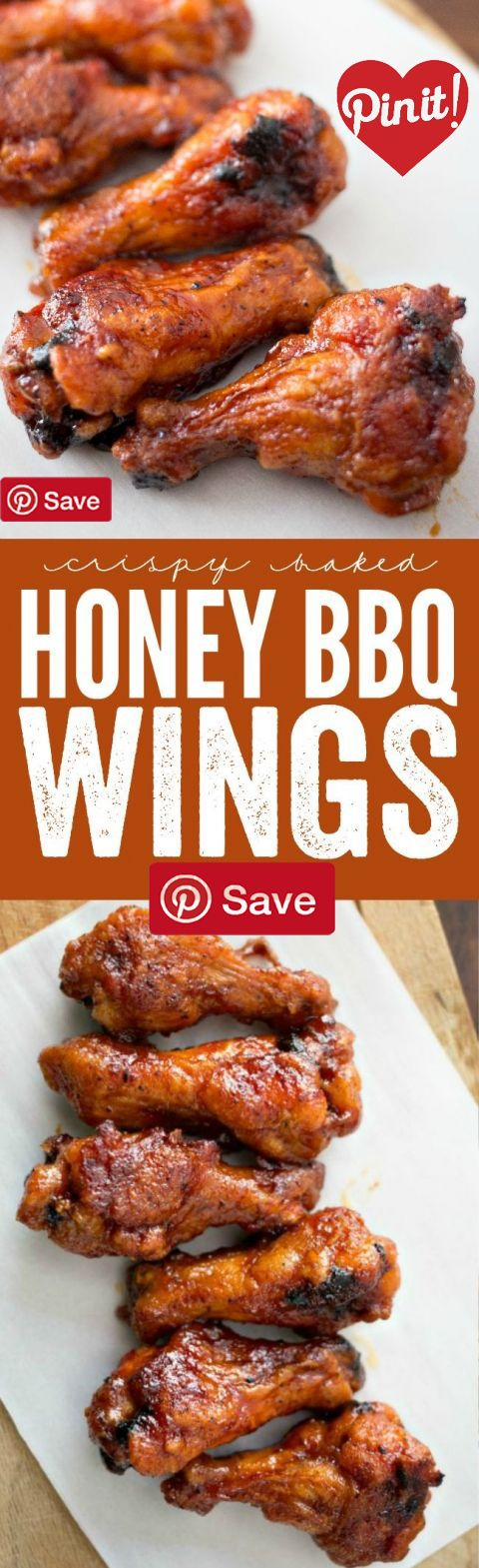 Crispy Baked Honey BBQ Wings - Ingredients  Meat  18 Chicken wings  Produce  1  tsp Powdered garlic  Condiments  1 cup Barbecue sauce   cup Honey  2 tbsp Hot sauce  Baking & Spices   tsp Black pepper   tsp Chili powder   cup Flour  1 tsp Salt  Oils & Vinegars  1 Cooking spray  Dairy  4 tbsp Butter #delicious #diy #Easy #food #love #recipe #recipes #tutorial #yummy @mabarto - Make sure to follow cause we post alot of food recipes and DIY we post Food and drinks gifts animals and pets and…