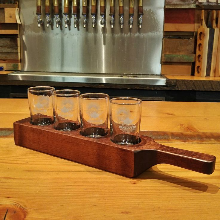 Beer flight paddles beer wood cool woodworking projects