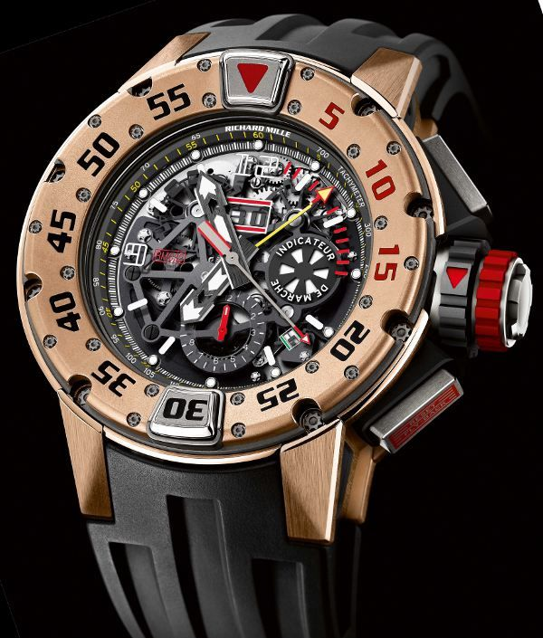 Richard Mille RM 032 Automatic Chronograph Dive Watch