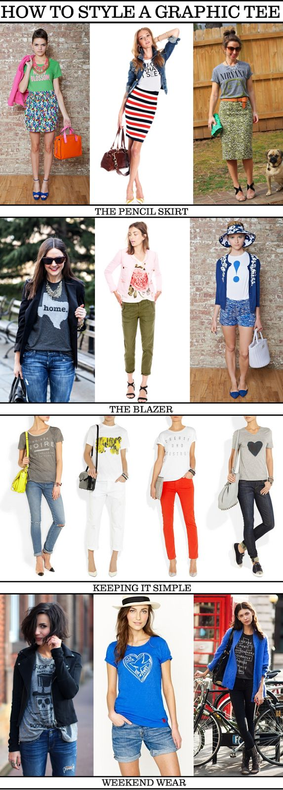 Ruffles & Sequins || a style blog: Graphic Tees, please!