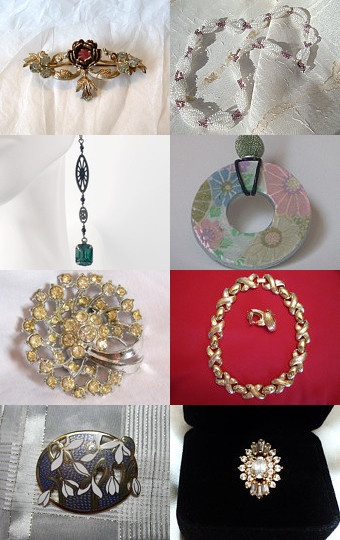 Gorgeous Treasury item's at Etsy!  Check it out...