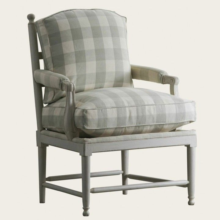 The Well Appointed House Swedish Gustavian Gripsholm Upholstered Chair