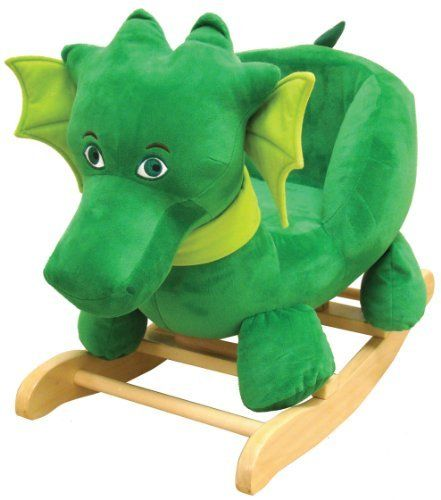 "Kids Preferred Puff, The Magic Dragon: Rocker by Kids Preferred. $129.99. Based on the stories of ""Puff, the Magic Dragon"" written by Peter Yarrow. Wooden rocker with soft body. 26"" long and 19"" tall. Perfect addition to any Puff, the Magic Dragon collection. Perfect size for toddler to ride. From the Manufacturer                The oohs and ahhs will come from adults, but children's eyes will light up at the sight of this sweet and soft rocker. The unforgettable characte..."