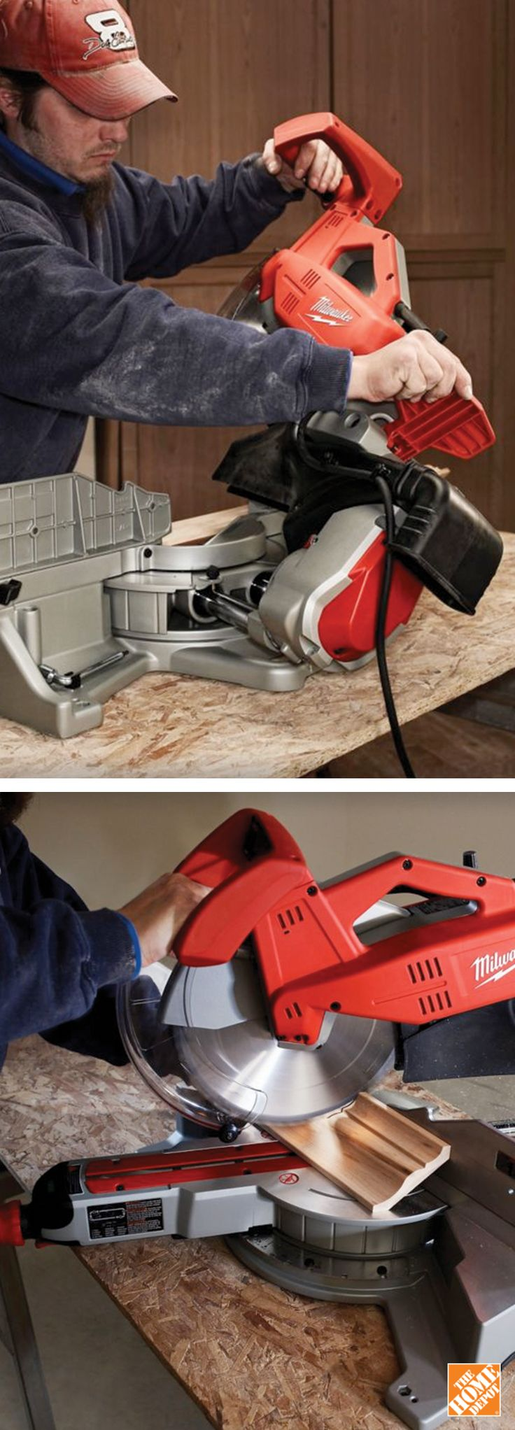 Good luck getting Dad out of the shop once he gets his hands on this mitre saw by Milwaukee. Shop now at homedepot.ca: http://hdepot.ca/2rRNl8c