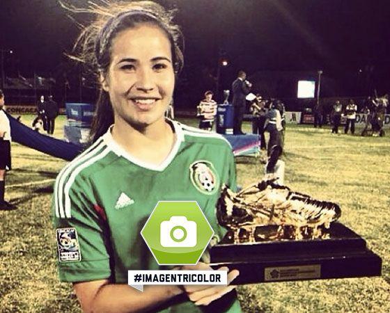Nuestra #ImagenTricolor de la semana: Tanya Samarzich, goleadora del Premundial Femenil Sub20