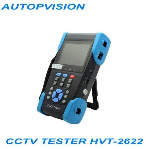 "217.50$  Buy now - http://aliuvy.worldwells.pw/go.php?t=32416418668 - ""3.5 """"Multimeter CCTV Tester with IP address search and wire tracker HVT-2622"""