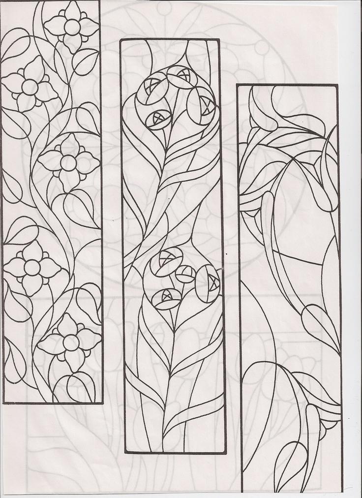 Diseños de vitrales Más