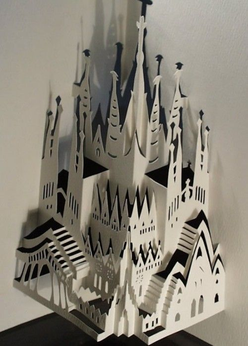 17 best images about kirigami on pinterest mandalas for Kirigami paper art