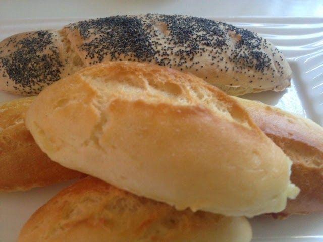 Sin gluten: Sin gluten: Pan de barra crujiente