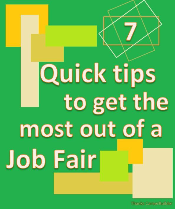 Best Career Fairs Images On   Job Fair Career Advice