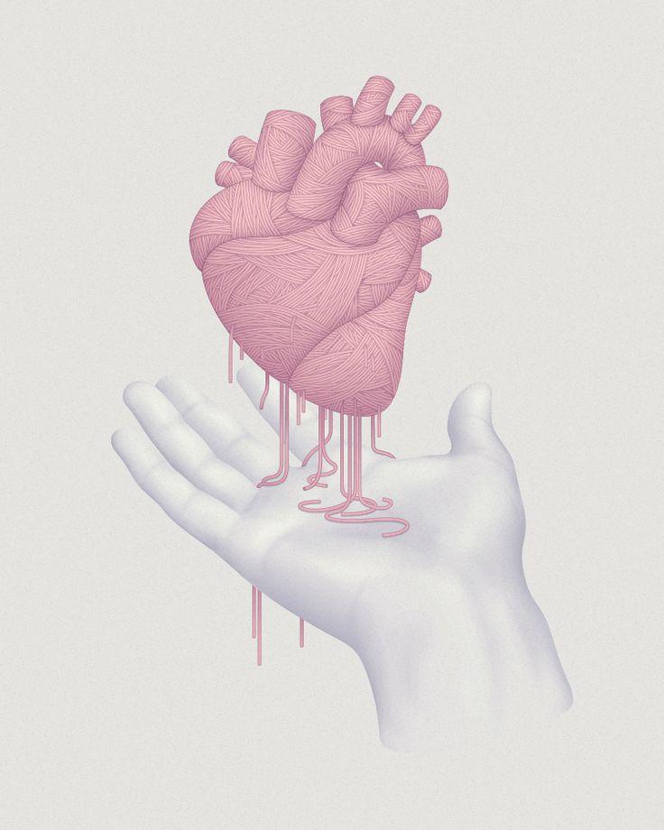real heart illustration - Buscar con Google