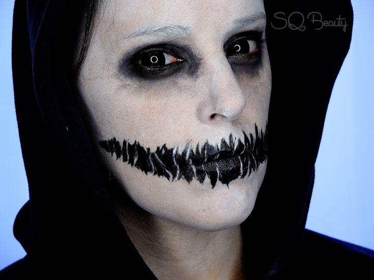 Maquillaje demonio buscar con google maquillajes for Pinturas de cara para halloween