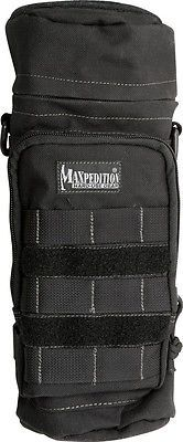 Tactical Molle Pouches 177900: Maxpedition Mx323b 12X5 Black Bottle Holder- Holds A Tall Insulated Container BUY IT NOW ONLY: $41.23