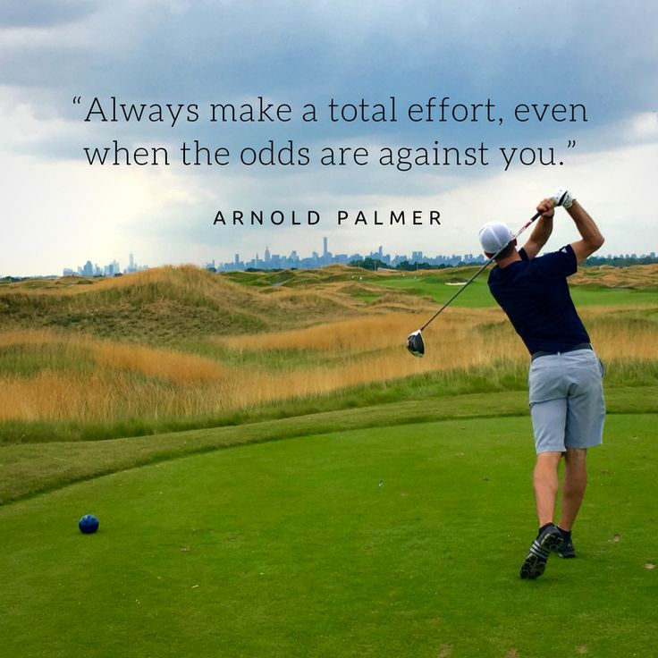 Golf Quotes Prepossessing The 25 Best Palmer Golf Ideas On Pinterest  Arnold Palmer Golf
