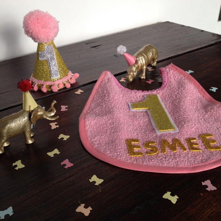 Eerste verjaardag - verjaardagsfeest 1 jaar - party animals