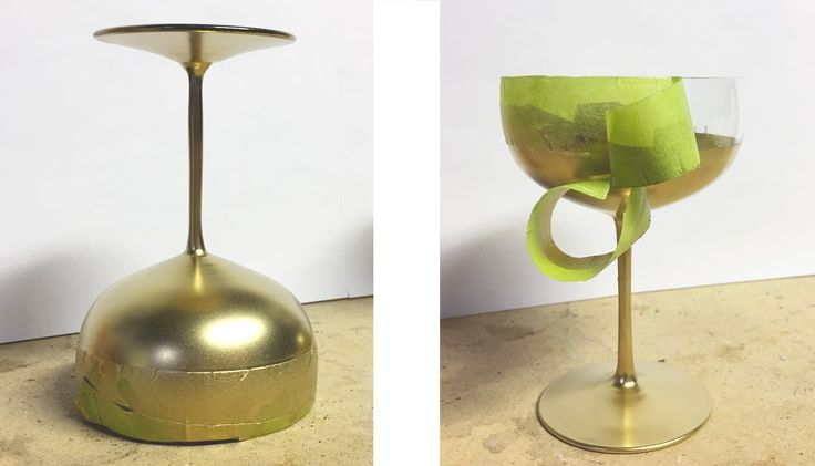 DIY coupe de champagne | Champagne glass DIY |  Sparks and Bloom