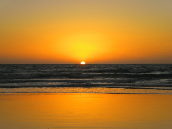 Sunset @Cable Beach, Broome, Australia