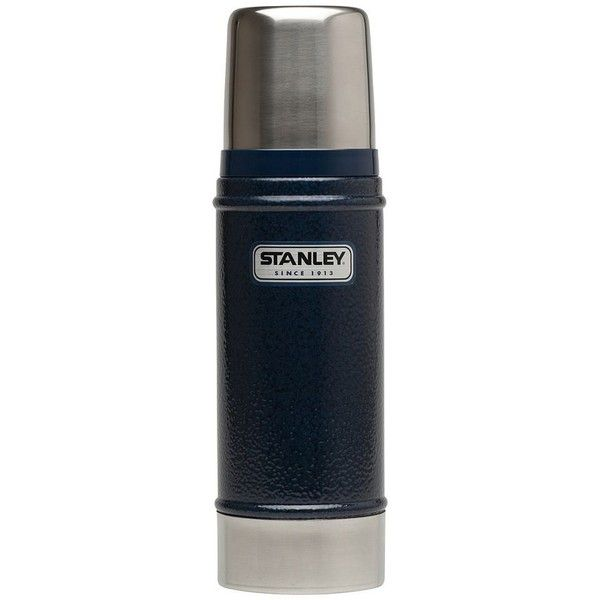 Stanley Classic 16-oz. Thermos (Blue) ($23) ❤ liked on Polyvore featuring blue