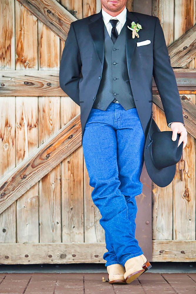 Country Wedding Groom Attire