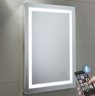 11 Curated Bathroom Audio Mirrors Ideas By Buycleverstuff