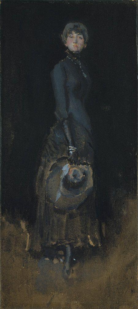 James McNeill Whistler: Lady in Gray (06.312) | Heilbrunn Timeline of Art History | The Metropolitan Museum of Art