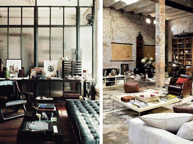 Le 25 migliori idee su stile industrial chic su pinterest for Salotto stile industriale