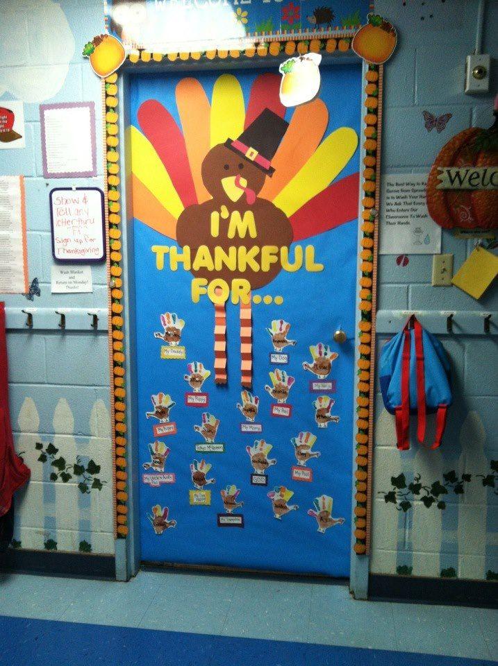 November Classroom Decor ~ Ideas about preschool door decorations on pinterest