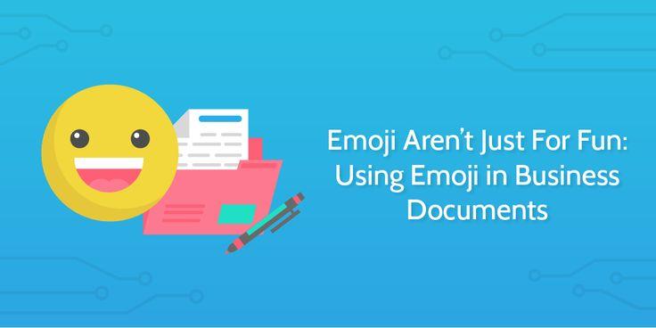 Emoji Aren't Just For Fun: Using Emoji in Business Documents   Process Street