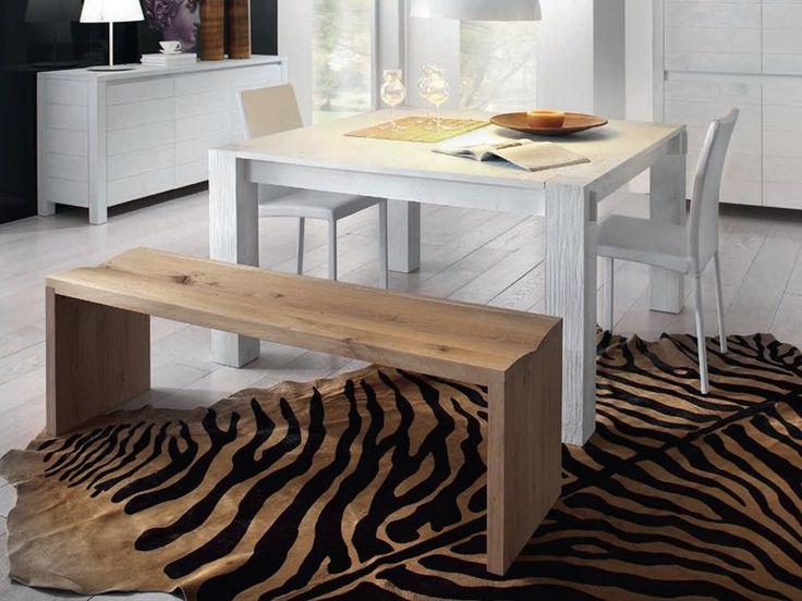 Tavolo quadrato in legno massello STORIA | TAVOLO QUADRATO - DOMUS ARTE