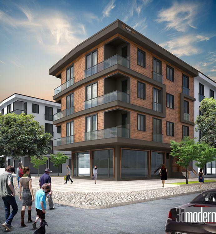 Dış Cephe Tasarımı/İstanbul | 3dmodern