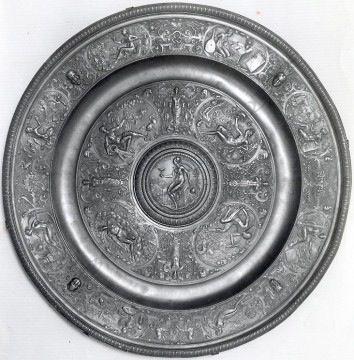 """Paire de guéridons """"La Tempérance"""" Elkington Tobogan Antiques Paris antiquités XIXe siècle"""