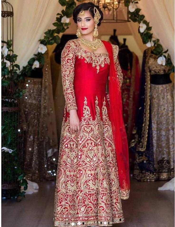Designer Anarkali Suit at Mirraw.