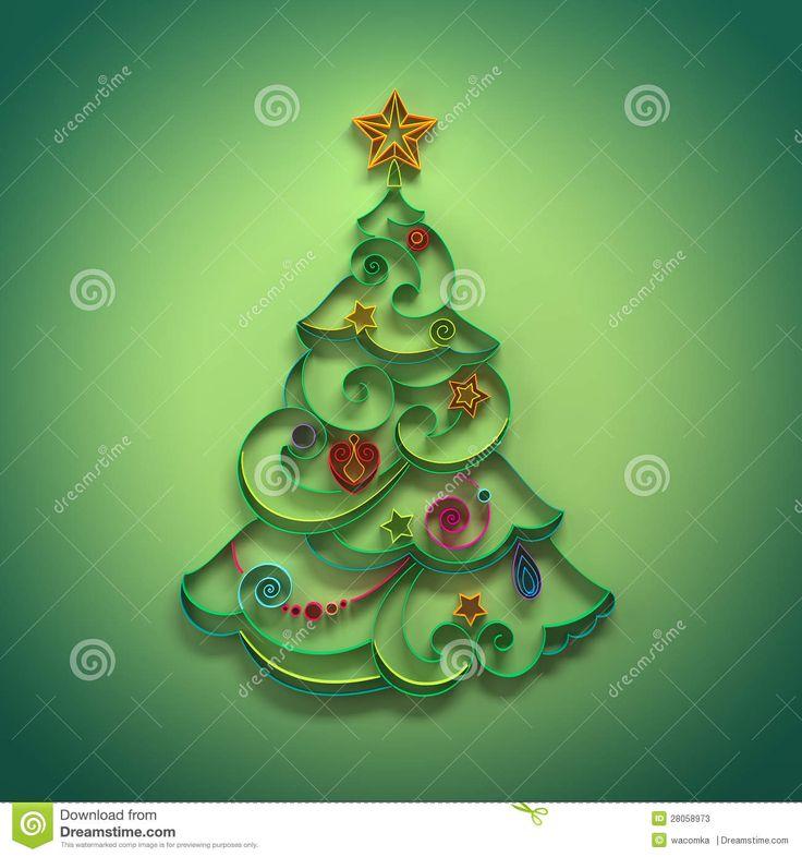 Décoration De Conifère D'arbre De Noël Quilling - Télécharger parmi plus de 36 Millions des photos, d'images, des vecteurs et . Inscrivez-vous GRATUITEMENT aujourd'hui. Image: 28058973