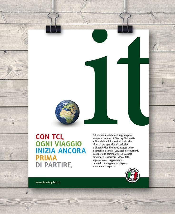 Creative Advertising / Poster / Touring Club Italiano