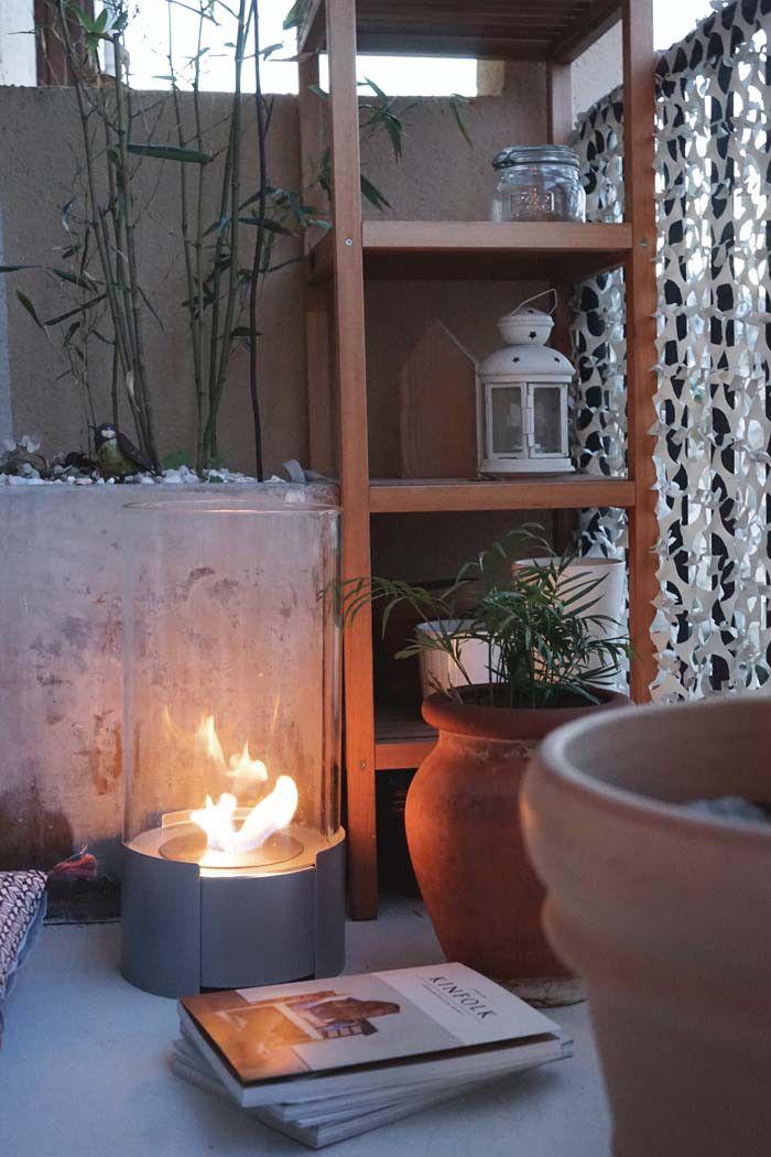 Un poêle ou une cheminée à poser pour illuminer la déco