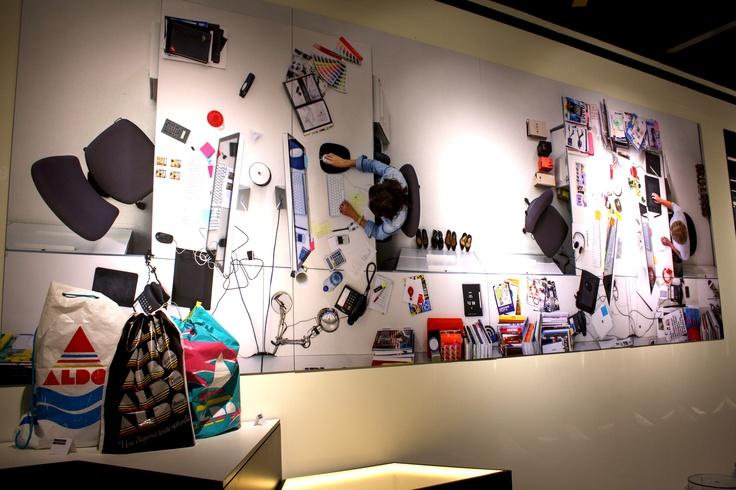 #ALDO40 #EXPO40 #DREAMDESK #design #inspirational #dreambig