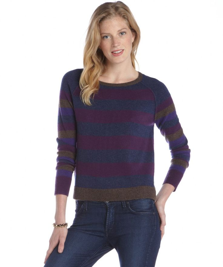 women-s-blue-and-purple-striped-sweater-