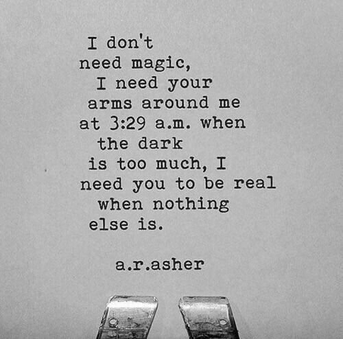 I don't need magic ....