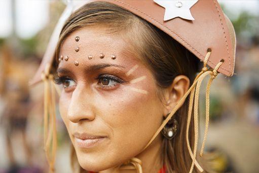 Inspiração de Make para o Carnaval : Cangaceira