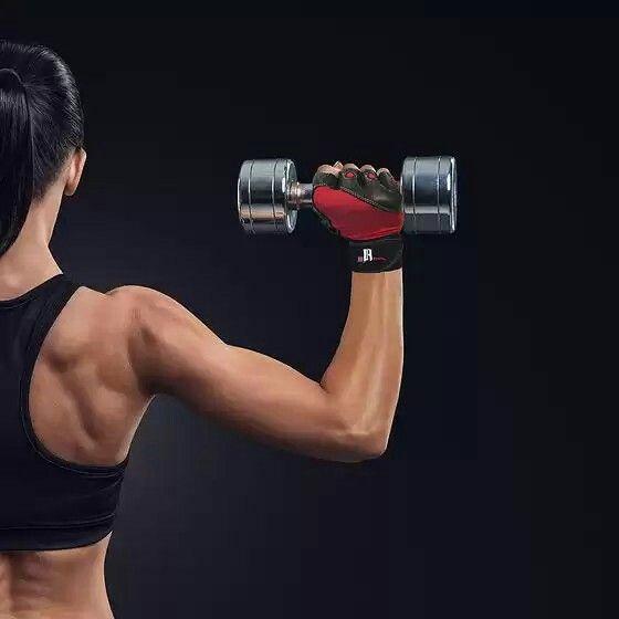 RIMSports Women Weight Lifting Gloves w/ Wristwrap