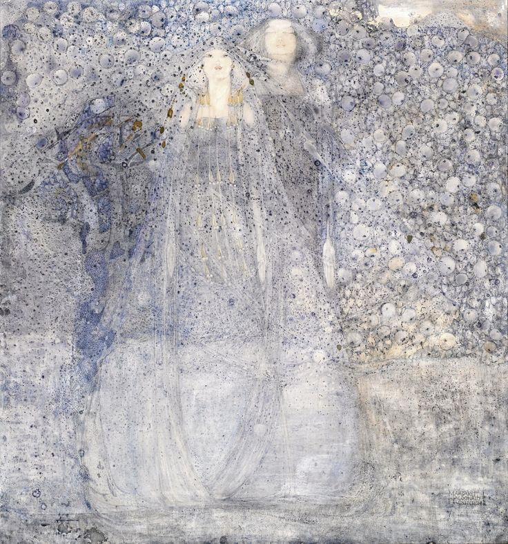 Scottish artist who influenced Gustav Klimt: The Silver Apples Of The Moon