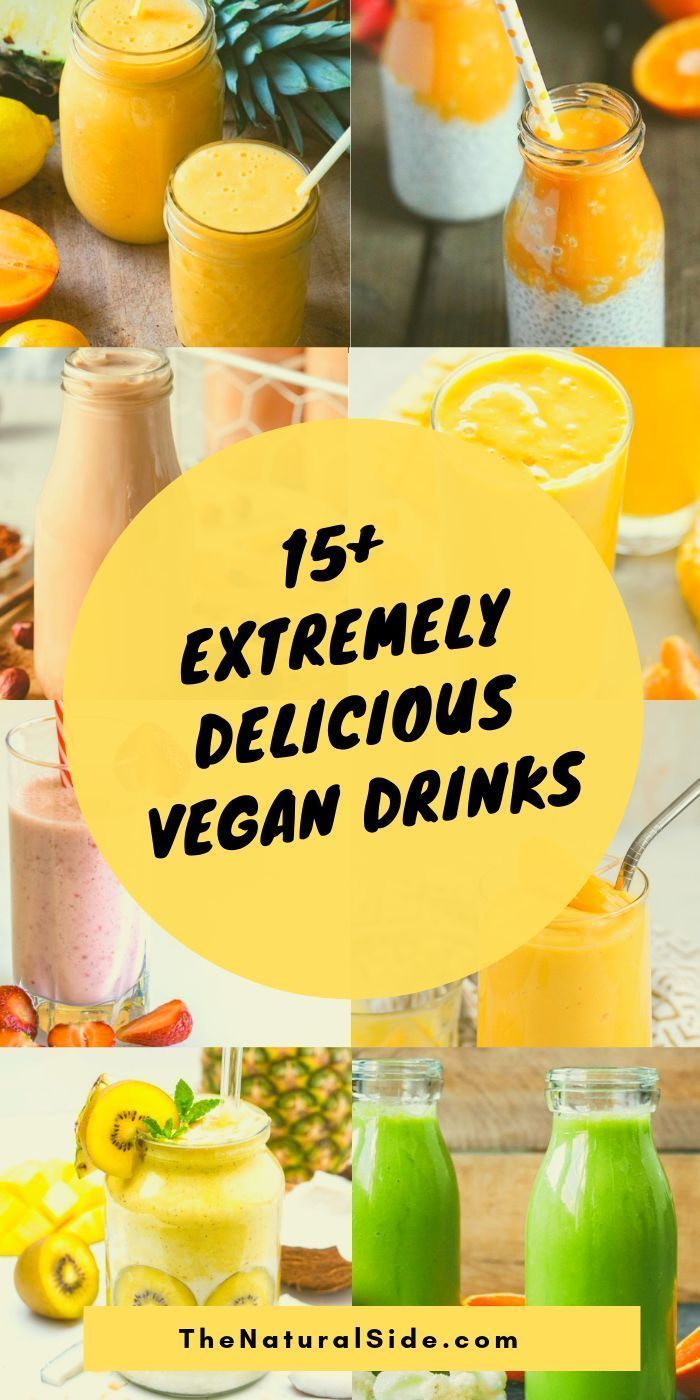 15 List Of Vegan Drinks That Are Extremely Delicious Fun