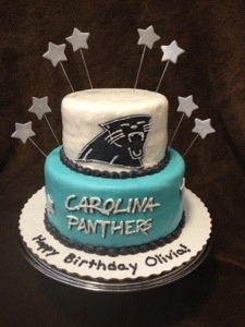 Carolina Panthers CakePanthers Birthday, Alexa Bday, Carolina Panthers Party Ideas, Birthdays, Panthers Football Cake, Carolina Panthers Cake, Bday Cake, 2014 Birthday, Birthday Cakes